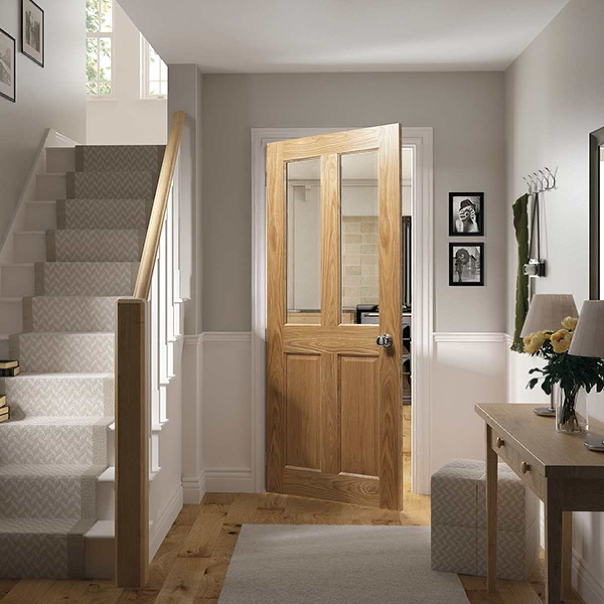 Bury Glazed oak lifestyle websters Image by Websters Timber