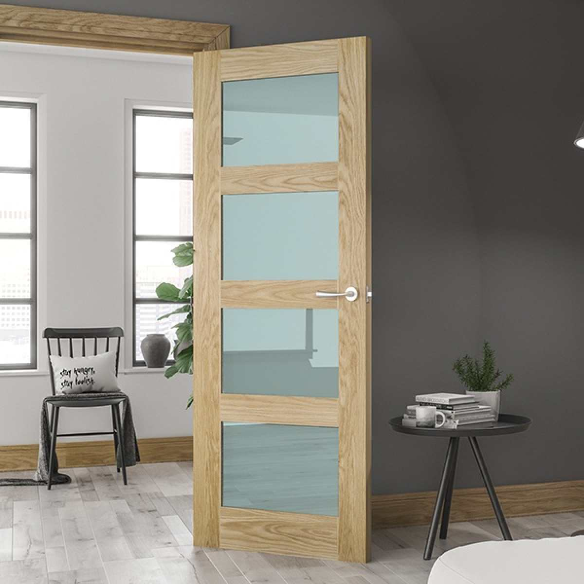 Coventry glazed oak lifestyle websters Image by Websters Timber