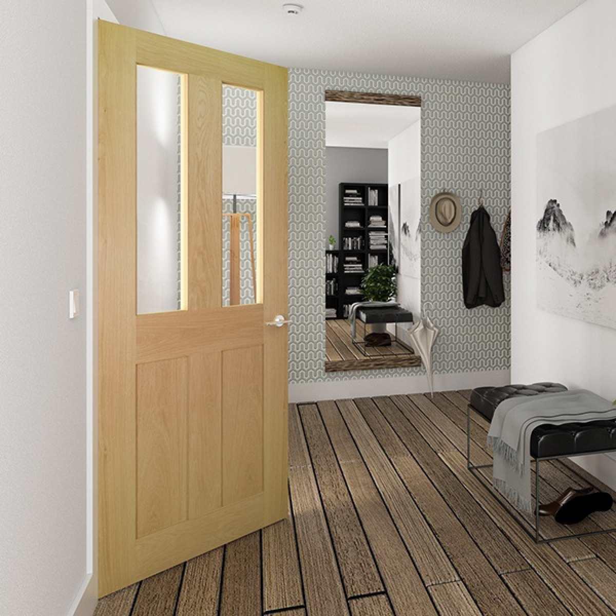 Eton glazed oak 2 lifestyle websters Image by Websters Timber