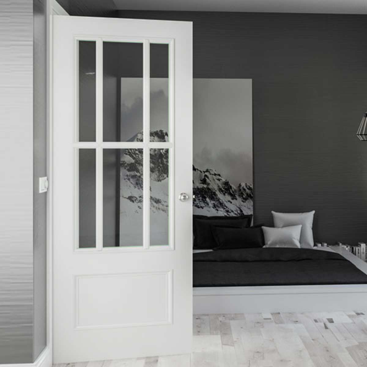 canterbury white primed glazed lifestyle websters Image by Websters Timber