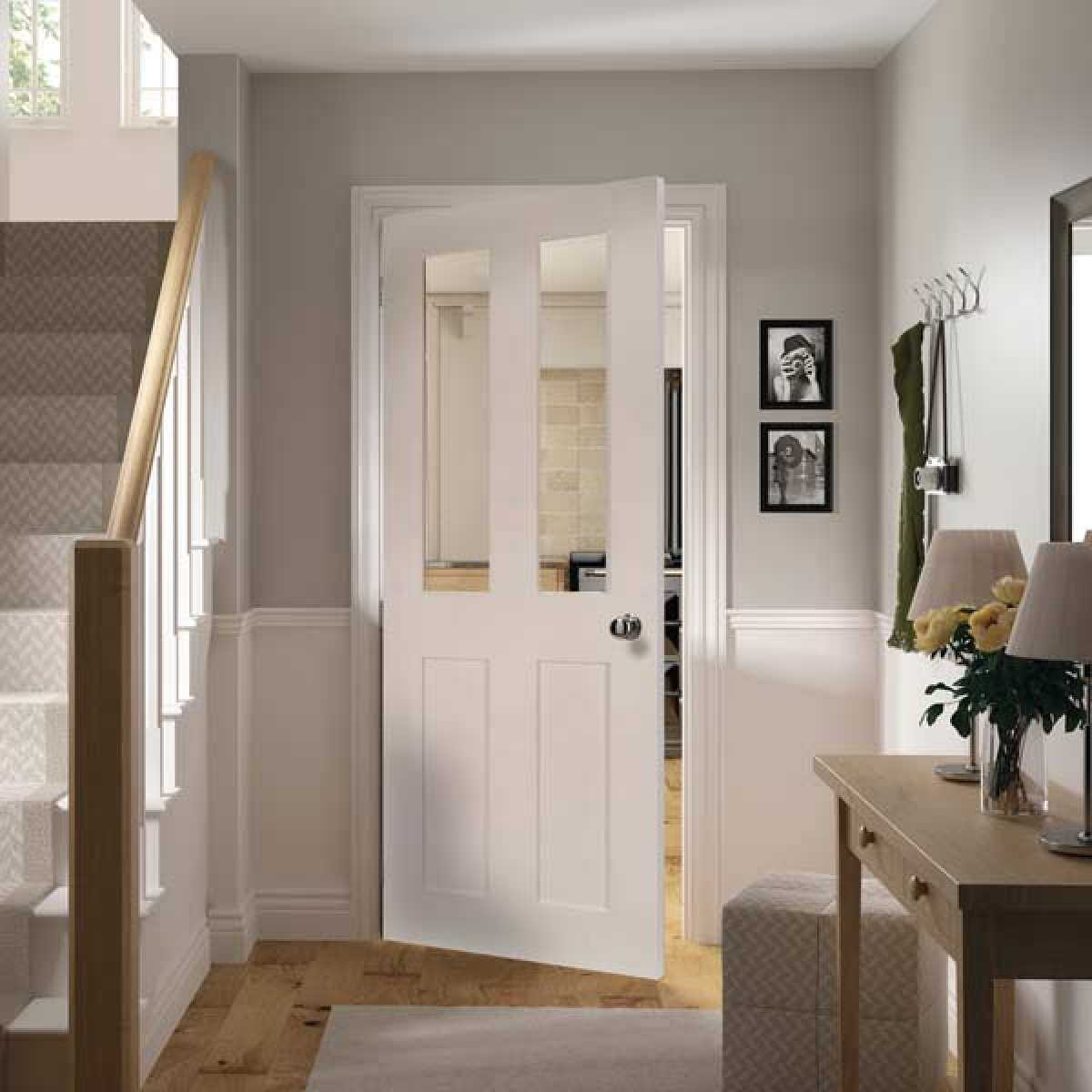 eton white primed glazed lifestyle websters Image by Websters Timber