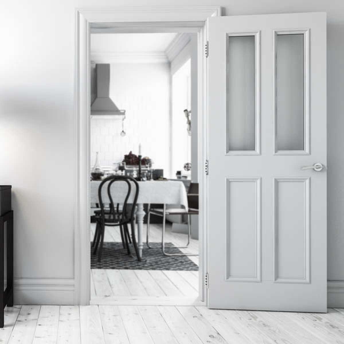 rochester white primed glazed lifestyle websters Image by Websters Timber