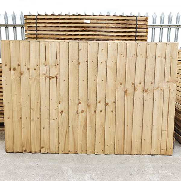 Feather Edge Fencing Panel by Websters Timber