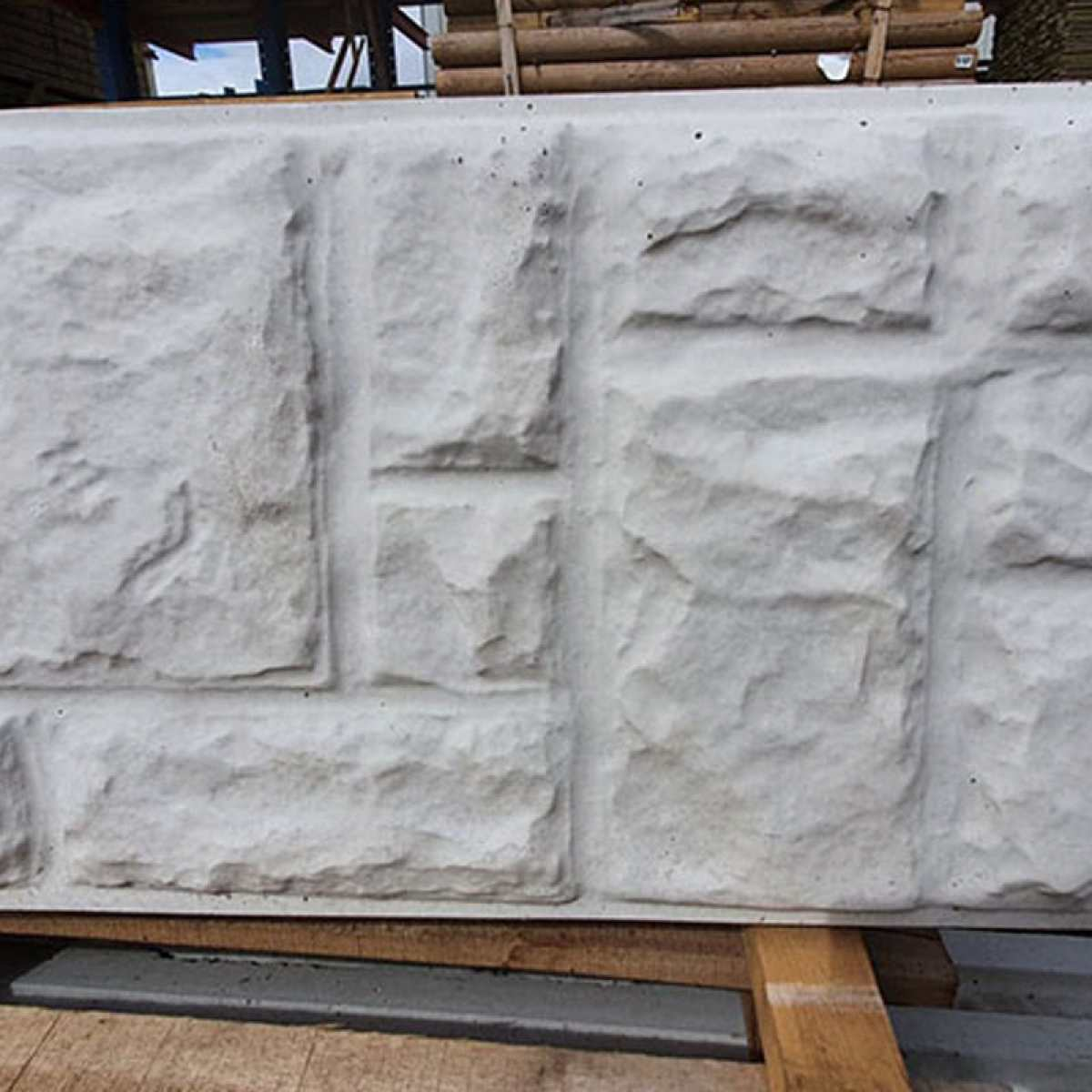 concrete gravel boards rock effect faced Image by Websters Timber