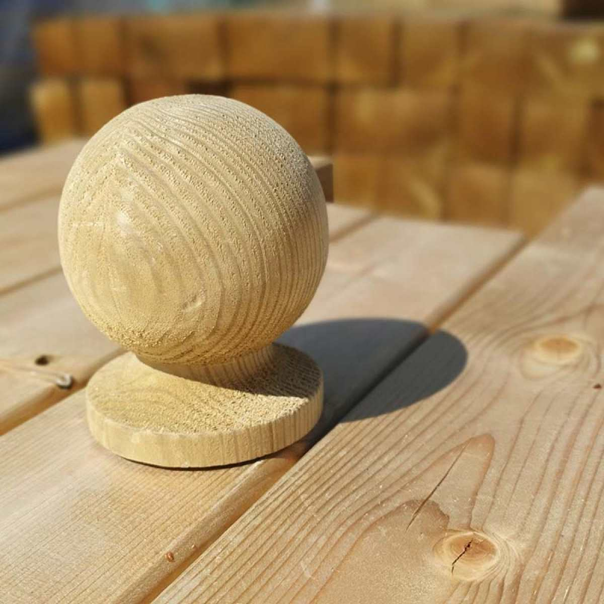 decking ball2 post cap websterstimber scaled Image by Websters Timber