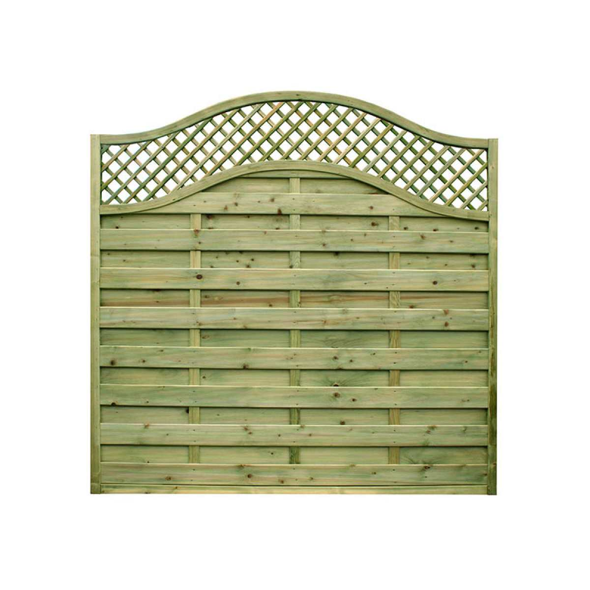 neris 1800x1800mm continental fence Image by Websters Timber