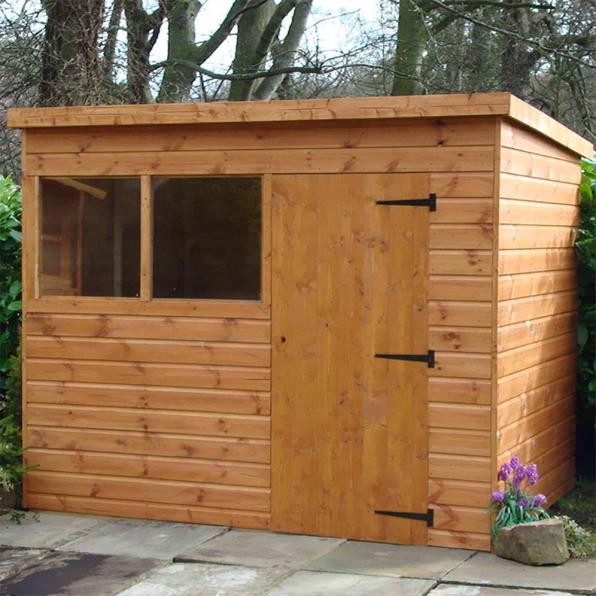 pent shed websterstimber 800px by Image by Websters Timber