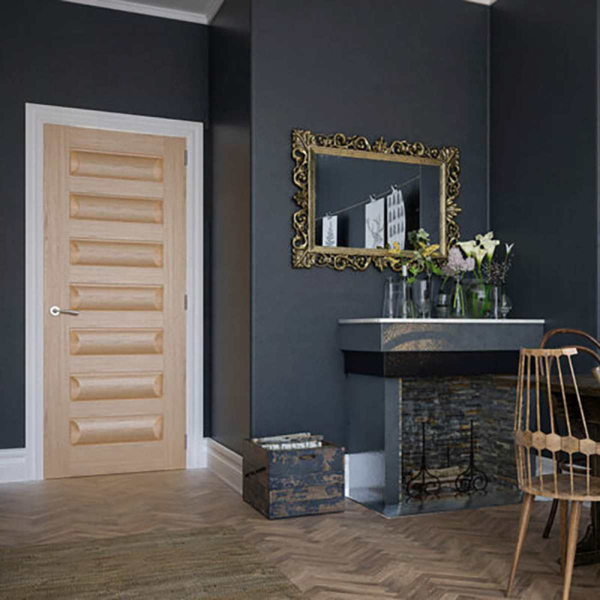 Biarritz door non glazed Image by Websters Timber