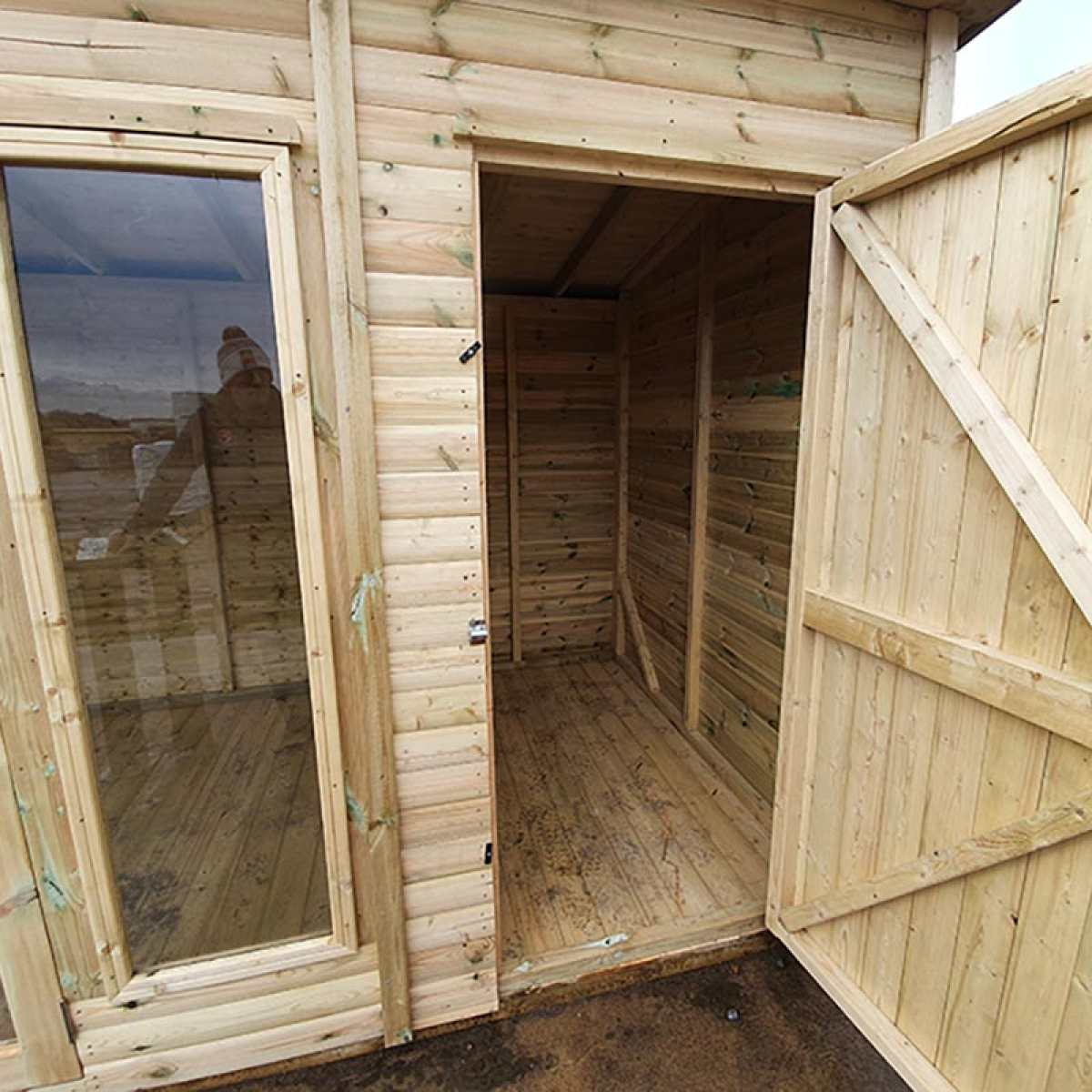 OxfordShedCombiInterior 800px by Image by Websters Timber